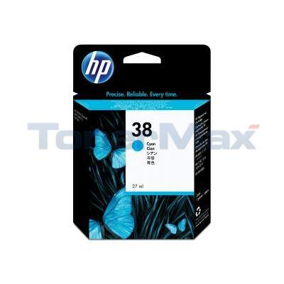 HP NO 38 VIVERA INK CYAN